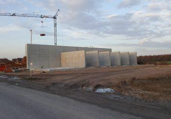 Bauarbeiten im vollen Gange