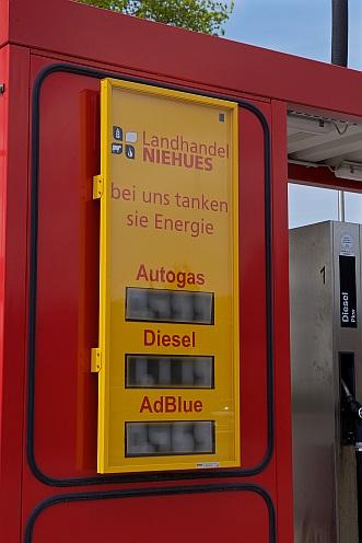 Tankstellenpreise